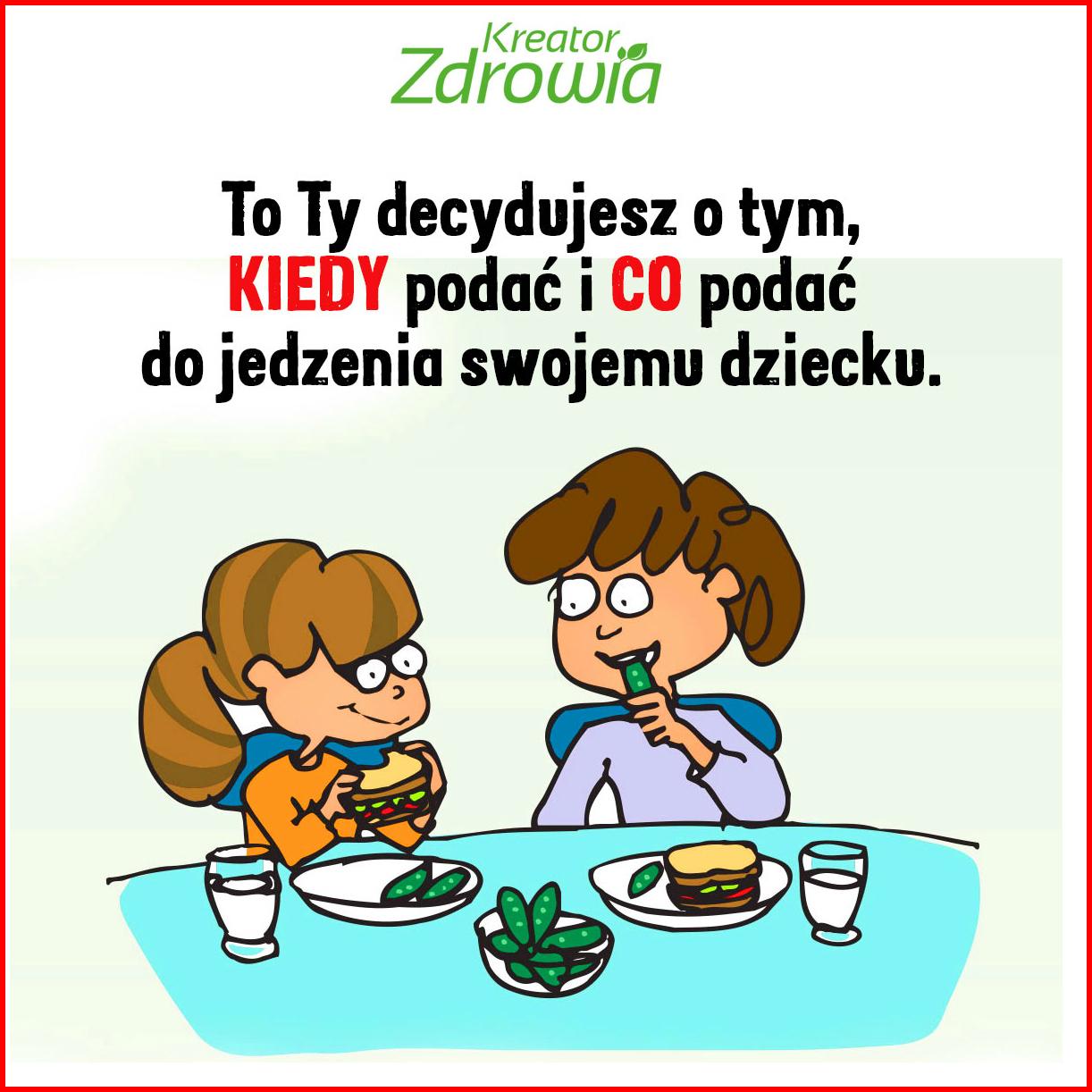 zasady karmienia dzieci